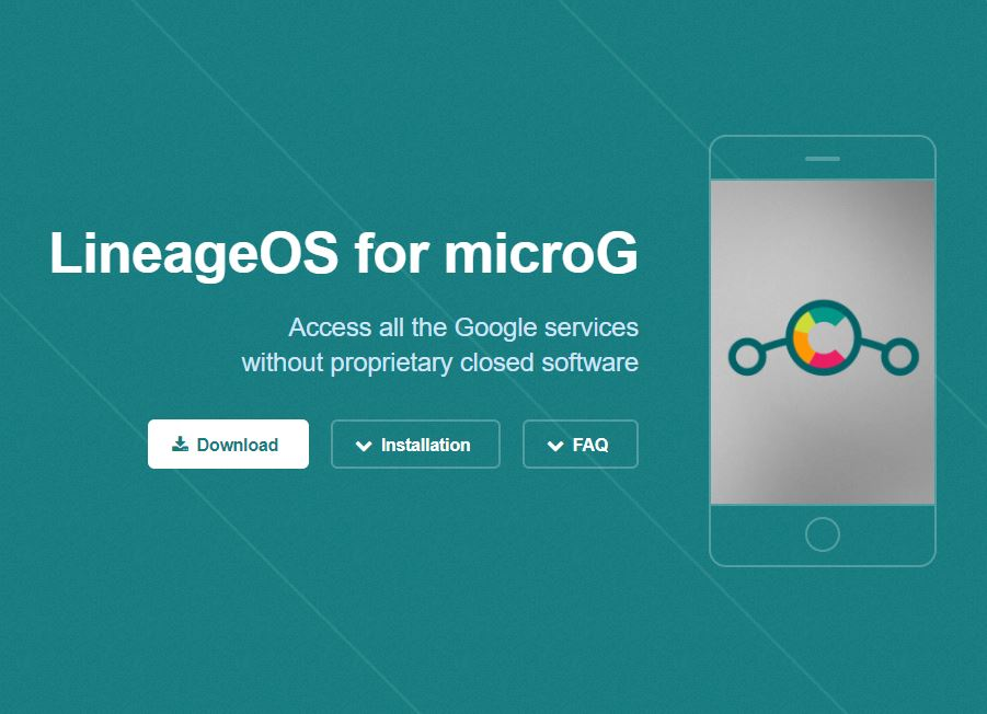 MicroG for LineageOS
