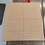 DIY laser cut wooden goban